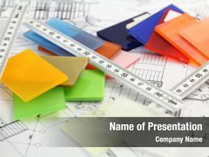 Architectural color samples materials plastics,