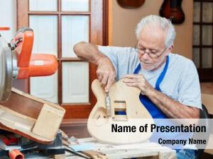 Maker luthier guitar her workshop