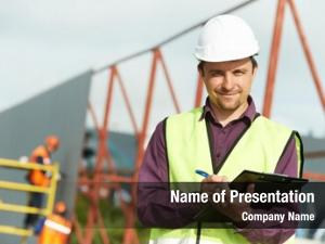Builder site manager worker uniform