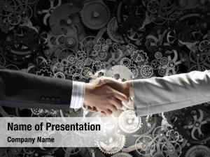 Concept successful partnership