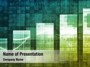 Technology bar chart abstract background