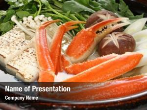 Japanese crab nabemono steamboat dish