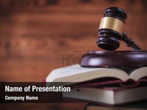 Law judge gavel books court,