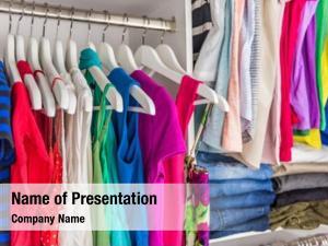Walk in fashion clothes clothing closet
