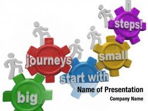 Start big journeys small words