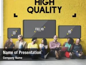 Display high quality digital technology
