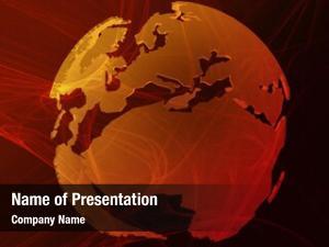 Over data transfer globe world