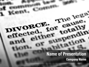 Divorce legal definition ending marriage