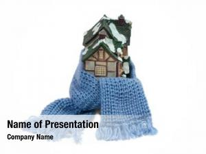 Half timbered christmas toy house wrapped