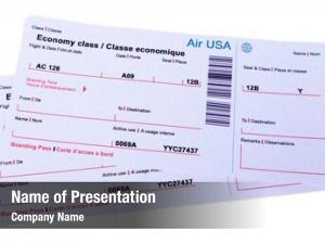 White airline tickets