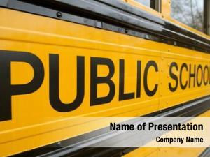 Sign public school detail school