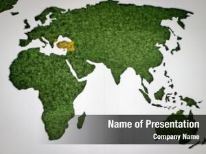 Map globe world wall