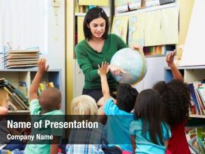 Geography elementary pupils class teacher
