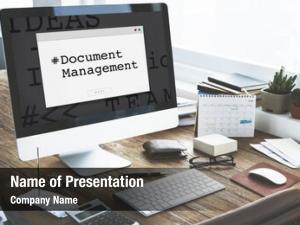 Storage online data document management