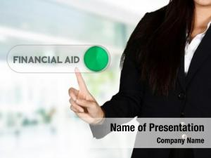 Who confident businesswoman getting financial