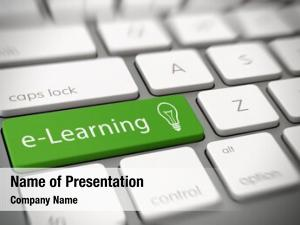 Studies e learning online concept text