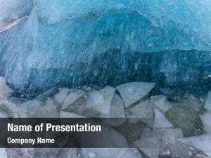 Texture, blue ice winter texture