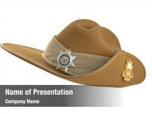 Slouch australian army hat, white