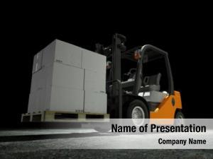 Forwarder forklift freight logistics company