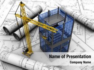 Urban architecture modern building design