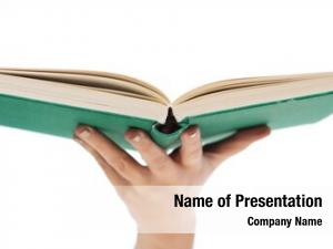 Concept education book close woman