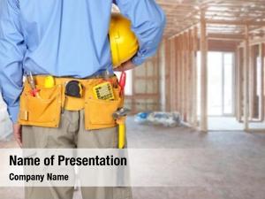 Tool construction worker belt