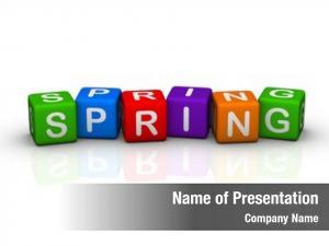 Cubes spring (buzzword series)