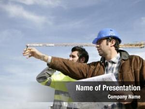 Site foreman worker