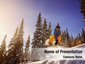 Snowboard jumping snowboarder mountains ski