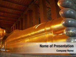 Wat reclining buddha, po, thailand