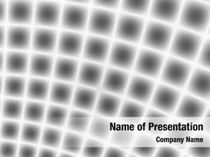 Shiny fractal rendition metal grid