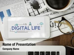 Network social platform digital life
