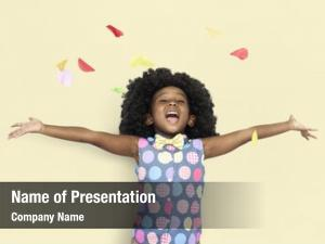 Happiness little ppt template