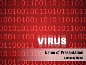 Background virus abstract web security