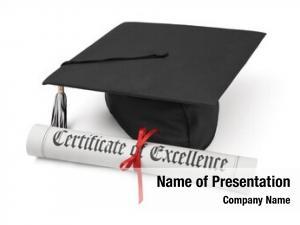 Diploma graduation hat
