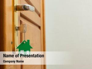 House house key shaped silver