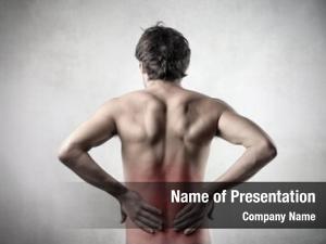 Man rear view backache