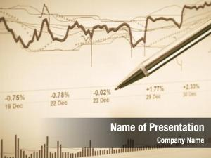 Graphs stock market analysis