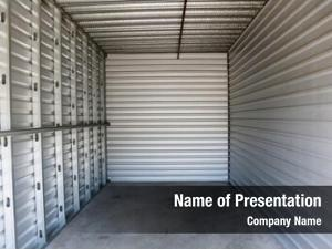 Unit empty storage