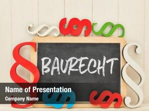 Baurecht german word (construction law)