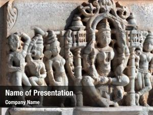 Temple hinduism ranakpur fragment rajasthan