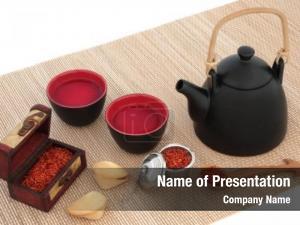 Tea safflower herbal oriental teapot,