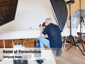 Photographer photographer advertising photo studio