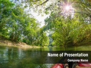 Kao safari canoeing sok river,