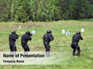 Tactical special forces exercises