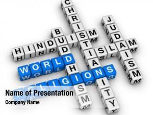 Religions major world christianity, islam,