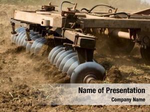 Tractor part agricultural cultivating land