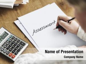 Audit assessment powerpoint template