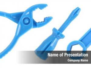 Toy tools powerpoint theme