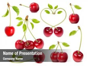 Collection of ripe powerpoint background